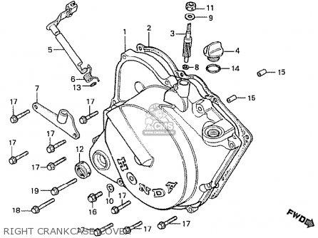 Honda Mb50f Mb5 1980 (a) Austria parts list partsmanual