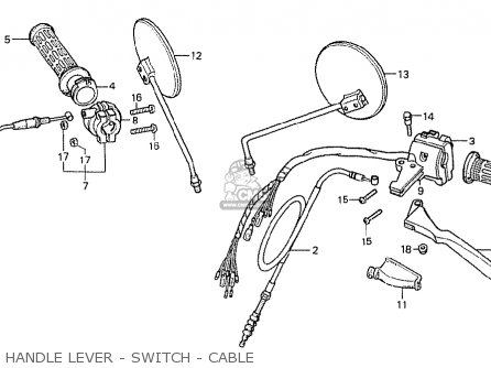 Honda Mb50f Mb5 1980 (a) European Direct Sale parts list