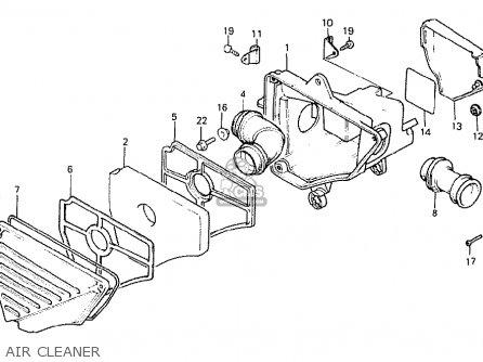 Honda Mb50f Mb5 1980 (a) Switzerland parts list