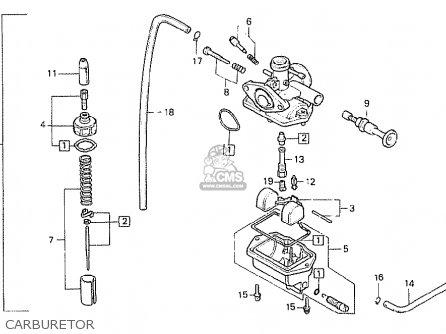 Honda MB50S MB5 1980 (A) BELGIUM parts lists and schematics