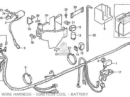 Honda Mb50s Mb5 1980 (a) England parts list partsmanual