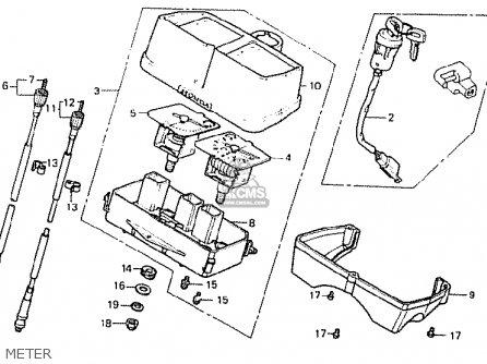 Honda Mb50sa Mb-5 (belgium) parts list partsmanual partsfiche
