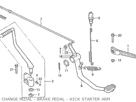 Honda Mb50z Mb-5 1979 (japanese Home Market) parts list