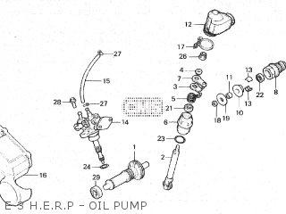 Honda Mbx125f 1984 (e) parts list partsmanual partsfiche