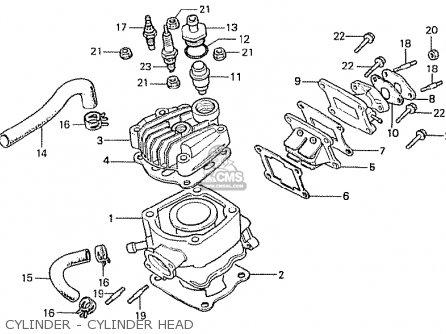 Honda MBX50FWD GENERAL EXPORT parts lists and schematics