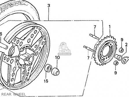 Honda Mbx50fwdf Belgium parts list partsmanual partsfiche