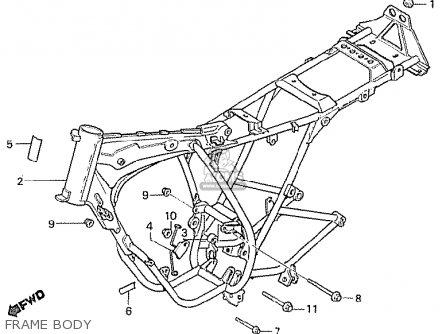 Honda Mbx50fwdf South Africa parts list partsmanual partsfiche