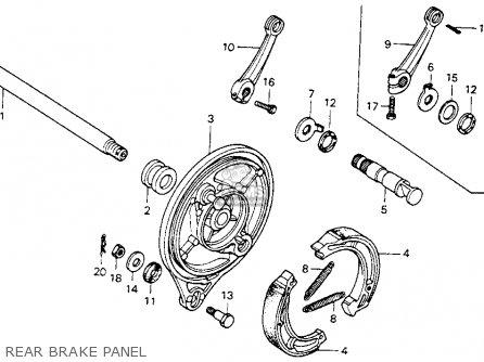 Honda Mr175 Elsinore 1977 Usa parts list partsmanual