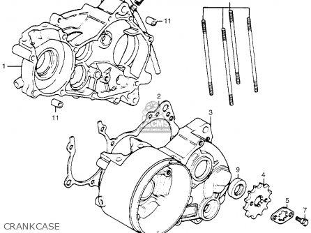 Honda Mr50 Elsinore 1974 K0 Usa parts list partsmanual