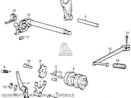 Honda MR50 ELSINORE 1974 K0 USA parts lists and schematics