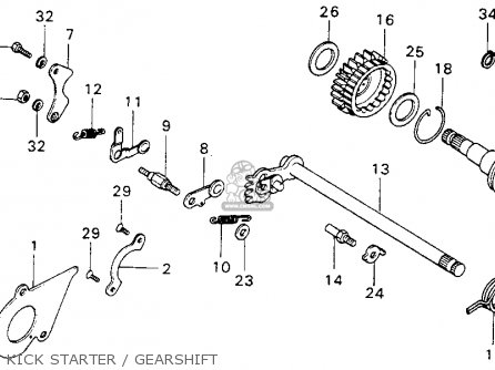 1978 Honda Cb125s Wiring Diagram Honda Sl70 Wiring Diagram