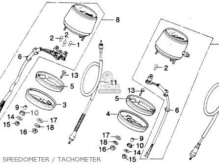 Honda MT250 ELSINORE 1974 K0 USA parts lists and schematics