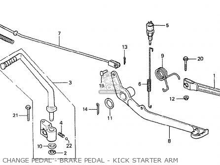 Honda Mt50fe 1980 (a) European Direct Sales parts list