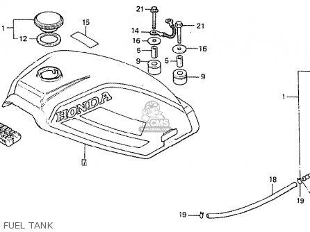 Honda MT50S 1980 (A) GERMANY parts lists and schematics