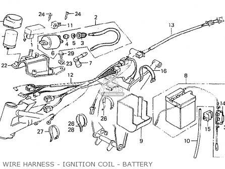 Honda MT50S 1981 (B) BELGIUM parts lists and schematics