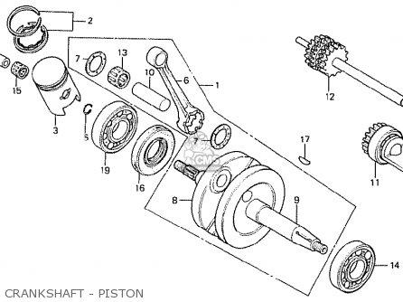 Honda Mt50s 1985 (f) Netherlands parts list partsmanual