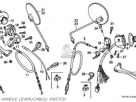 Honda Mt50s 1990 (l) Netherlands parts list partsmanual