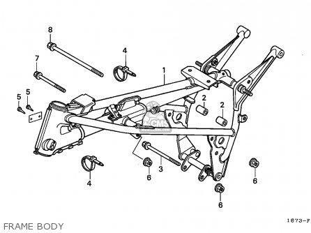 Honda Mt50s 1990 (l) Norway parts list partsmanual partsfiche