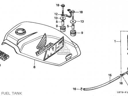 Honda MT50S 1990 (L) NORWAY parts lists and schematics