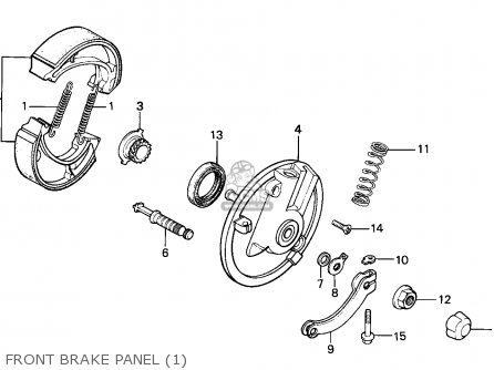Honda MTX125RW 1983 (D) SWEDEN parts lists and schematics