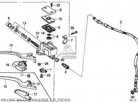 Honda MTX125RW 1985 (F) FRANCE / YB 15P parts lists and