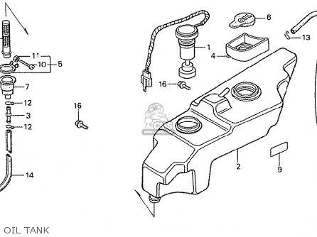 Honda MTX50RFF BELGIUM parts lists and schematics