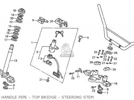 Honda MTX50RSD BELGIUM parts lists and schematics