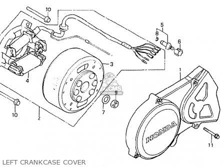 Honda MTX50S 1982 (C) BELGIUM parts lists and schematics