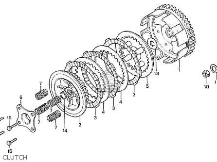 Honda MTX50S 1982 (C) AUSTRIA parts lists and schematics