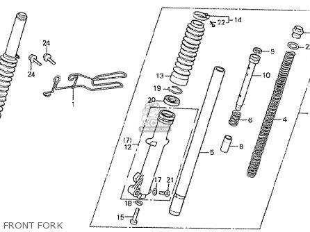Honda MTX50S 1982 (C) SWITZERLAND (TYPE 2) parts lists and