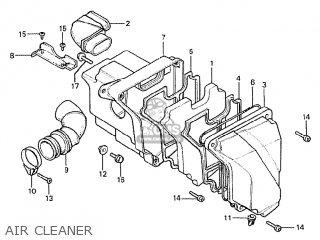Honda Mtx50s 1984 (e) Germany parts list partsmanual