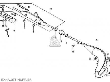Honda MTX50S 1984 (E) GERMANY parts lists and schematics