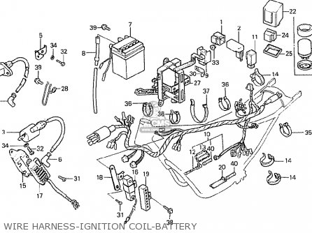 Honda Mtx50s 1984 (e) Germany parts list partsmanual