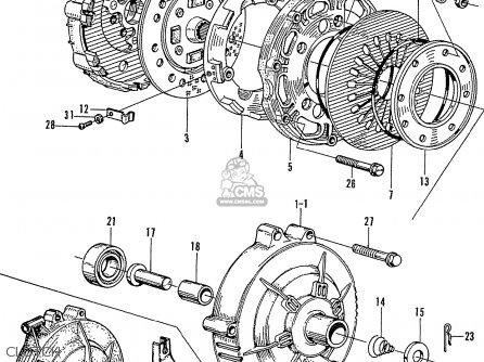Honda N360 parts list partsmanual partsfiche