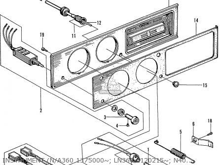 Honda N400 Coupe Stationwagon parts list partsmanual