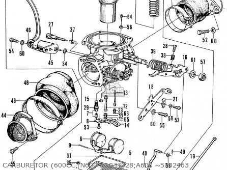 Honda N600 parts list partsmanual partsfiche