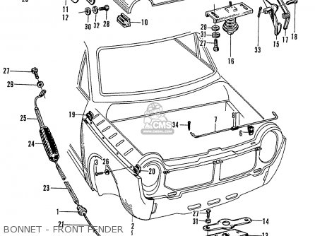 Car Engine Parts 101 Bingo Car Parts Wiring Diagram ~ Odicis