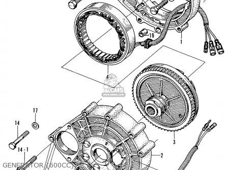 Honda N600 parts list partsmanual partsfiche