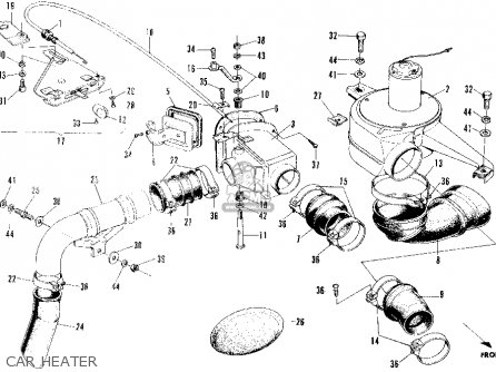 Honda N600 Sedan 1970 2dr (ka) parts list partsmanual