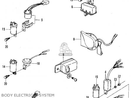 1971 B Body Wiring Diagram