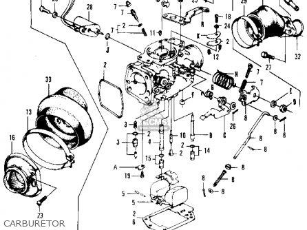 Honda N600 SEDAN 1971 2DR (KA) parts lists and schematics