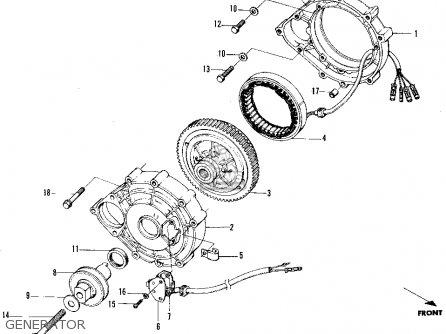 Honda N600 Sedan 1971 2dr (ka) parts list partsmanual