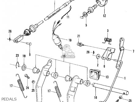 Honda N600 SEDAN 1972 2DR (KA) parts lists and schematics