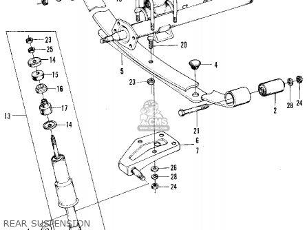 Honda N600 Sedan 1972 2dr (ka) parts list partsmanual