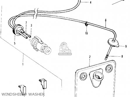 Honda N600 Sedan 1972 2dr (ka) parts list partsmanual