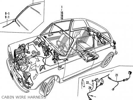 Honda N600G COUPE STATIONWAGON (KE KG KJ KS KQ KP KD KT KU