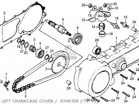 Honda NA50 EXPRESSII 1979 (Z) USA parts lists and schematics