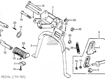 Honda Na50 Expressii 1979 (z) Usa parts list partsmanual