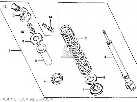 Honda NA50 EXPRESSII 1980 (A) USA parts lists and schematics