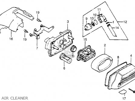 Honda Na50 Expressii 1981 (b) Usa parts list partsmanual